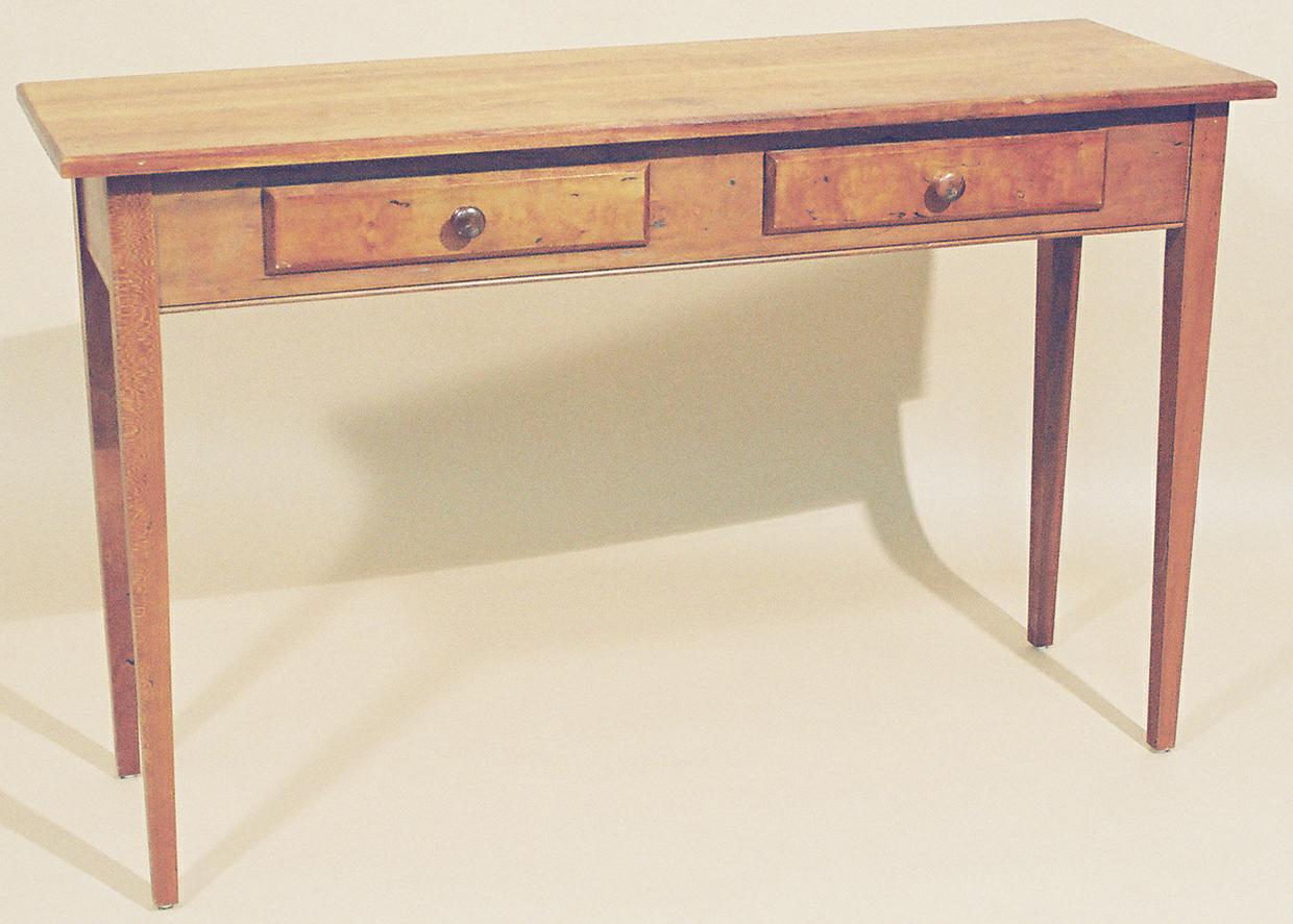Shaker Style Cherry Hall Table