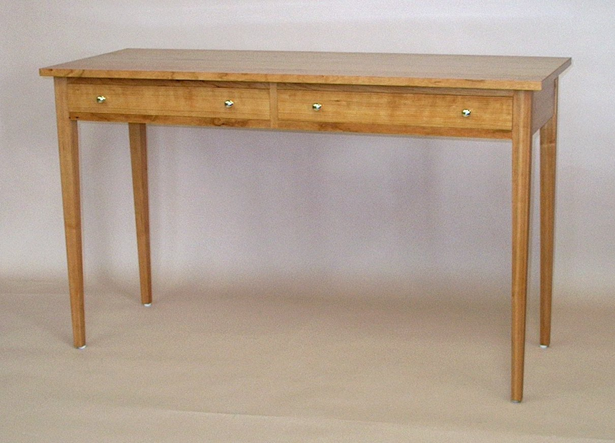 Figured Cherry Hall Or Sofa Table